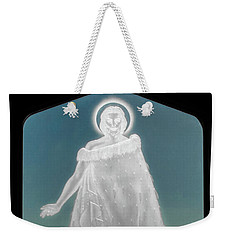 Weekender Tote Bag featuring the photograph Jesus Walks On The Water by Mark Dodd