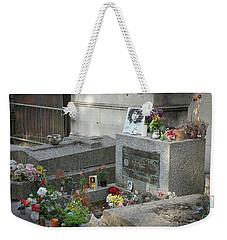 Jim Morrison's Grave Weekender Tote Bag