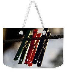 Weekender Tote Bag featuring the photograph Jobless by Stuart Manning
