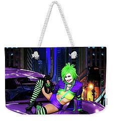 Joker The Color Purple Weekender Tote Bag