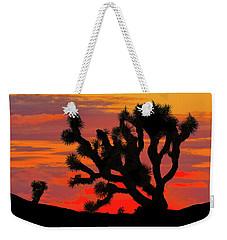 Joshua Tree At Sunset Weekender Tote Bag