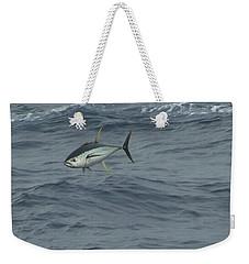 Jumping Yellowfin Tuna Weekender Tote Bag