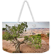 Juniper Over The Canyon Weekender Tote Bag