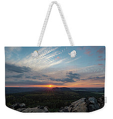 Just Before Sundown Weekender Tote Bag