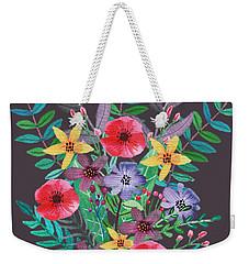 Just Flora II Weekender Tote Bag