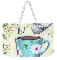 Just Rest Weekender Tote Bag