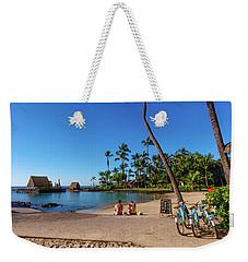 Kamakahonu Beach Weekender Tote Bag