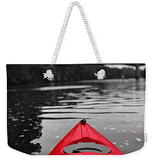 Kayaking The Occoquan Weekender Tote Bag