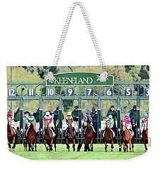 Keeneland Starting Gate Weekender Tote Bag