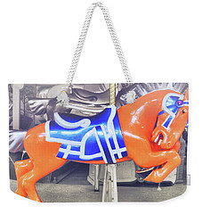 Kinder Orange Weekender Tote Bag