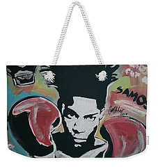 King Basquiat Weekender Tote Bag