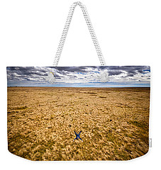 Weekender Tote Bag featuring the photograph King Of The Hill by Carl Young