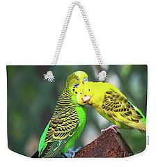 Kiss Me Goodnight Weekender Tote Bag