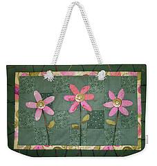 Kiwi Flowers Weekender Tote Bag