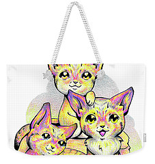 Kolorful Kitties Weekender Tote Bag