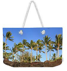 Golden Palms Weekender Tote Bag