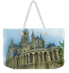 La Cathedrale De Bayeux Weekender Tote Bag