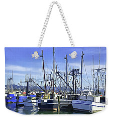 Weekender Tote Bag featuring the photograph Port Of Ilwaco by Susan Parish