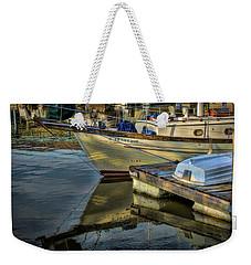 Lake Dardanelle Marina Weekender Tote Bag