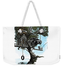 Lake Front Dream House Weekender Tote Bag