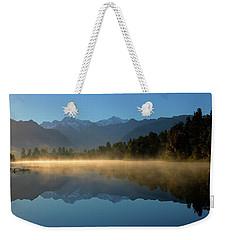 Lake Matheson Morning Weekender Tote Bag