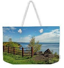 Lake Superior Overlook Weekender Tote Bag