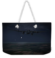 Weekender Tote Bag featuring the photograph Lancaster Baleout by Gary Eason
