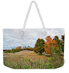 Landscape In The Fall Weekender Tote Bag