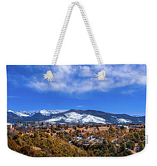 Las Trampas Scenic Overlook Weekender Tote Bag