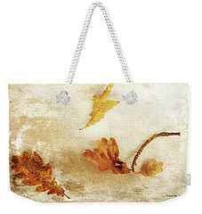Weekender Tote Bag featuring the photograph Last Days Of Fall by Randi Grace Nilsberg