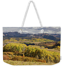 Weekender Tote Bag featuring the photograph Last Dollar Road by James BO Insogna