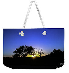 Last Light Texas Hill Country Paradise Canyon Sunset 8053a Weekender Tote Bag