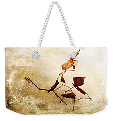 Weekender Tote Bag featuring the photograph Last Movement by Randi Grace Nilsberg