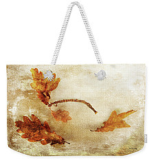 Weekender Tote Bag featuring the photograph Late Late Fall by Randi Grace Nilsberg