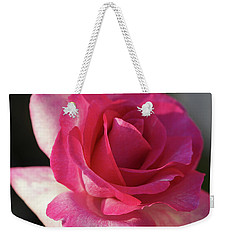 Late October Rose Weekender Tote Bag