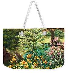 Late Summer Garden Weekender Tote Bag