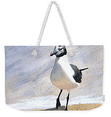 Laughing Gull Weekender Tote Bag