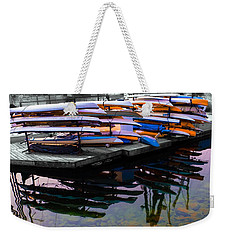Layers And Layers By The Water Weekender Tote Bag
