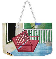 Lazy Summer Afternoon Weekender Tote Bag