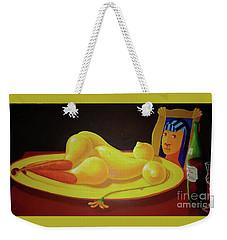 Le Dejeuner Sur Le Plat D Or Weekender Tote Bag
