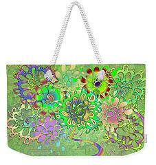 Leaves Remix Weekender Tote Bag