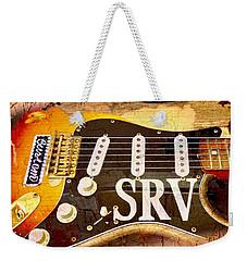 Lenny Stevie Ray Vaughans Guitar Weekender Tote Bag