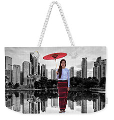 Let The City Be Your Stage Weekender Tote Bag