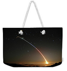 Lgm-118a Peacekeeper Missile Launch July 21 2004 Weekender Tote Bag