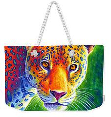 Light In The Rainforest - Jaguar Weekender Tote Bag