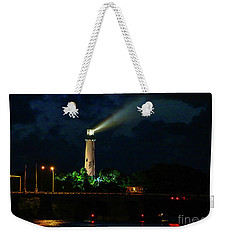 Lighthouse Lightbeam Weekender Tote Bag