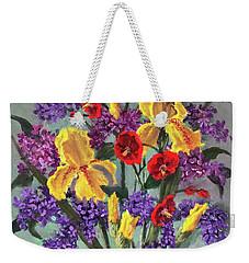 Lilac Days Weekender Tote Bag