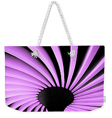 Lilac Fan Ceiling Weekender Tote Bag