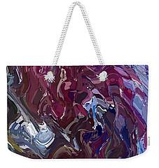 Lilac Oil Weekender Tote Bag