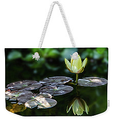 Lily In The Pond Weekender Tote Bag